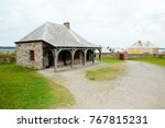 fort louisbourg   nova scotia   ... | Shutterstock . vector #767815231