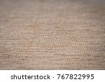 close up of a bedge textile... | Shutterstock . vector #767822995