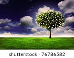 tree of thoughts | Shutterstock . vector #76786582