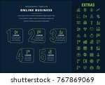 online business options... | Shutterstock .eps vector #767869069