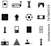 game icon set | Shutterstock .eps vector #767869219