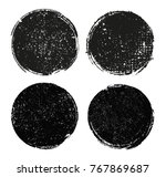 grunge banners stamps.vector... | Shutterstock .eps vector #767869687