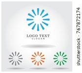 circle vector logo icon template