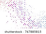 light blue  red vector pattern... | Shutterstock .eps vector #767885815