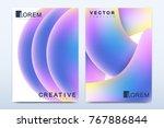 modern vector template for...   Shutterstock .eps vector #767886844