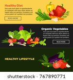 healthy lifestyle diet that... | Shutterstock .eps vector #767890771