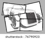 Snapshot Retro Car