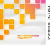 abstract vector background | Shutterstock .eps vector #76791016