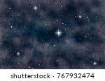 cosmic background   abstract... | Shutterstock . vector #767932474