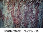 old gleaming paint on sheet...   Shutterstock . vector #767942245