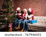 family  holidays  generation ... | Shutterstock . vector #767946451