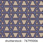 seamless blue ribs   Shutterstock .eps vector #76795006