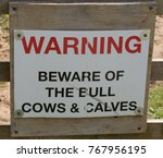 """warning beware of the bull... 