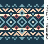 abstract geometric background... | Shutterstock .eps vector #767966617