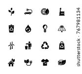 ecological icons   expand to... | Shutterstock .eps vector #767981134