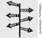 arrow symbol  sign  vector | Shutterstock .eps vector #767998681