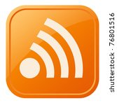 rss icon   Shutterstock . vector #76801516