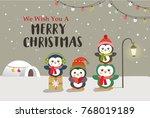 christmas background design... | Shutterstock .eps vector #768019189