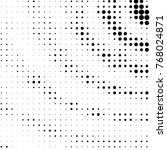 grunge halftone black and white ... | Shutterstock . vector #768024871