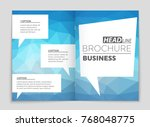 abstract vector layout... | Shutterstock .eps vector #768048775