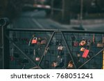 Wish Lockets On A Fence On A...