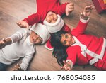 christmas  winter holidays ... | Shutterstock . vector #768054085