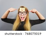 intellectual expressions  being ... | Shutterstock . vector #768075019
