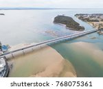 Aerial View Of Bridge...