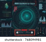 fantastic abstract background... | Shutterstock .eps vector #768094981