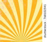 sunburst rays sunbeam... | Shutterstock .eps vector #768102541