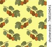 seamless vector pattern. bright ...   Shutterstock .eps vector #768104041