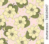 seamless vector pattern. bright ...   Shutterstock .eps vector #768104047