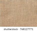 burlap background and texture | Shutterstock . vector #768127771