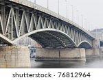 abstract steel construction... | Shutterstock . vector #76812964
