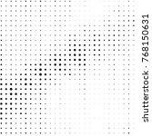 abstract grunge grid polka dot...   Shutterstock .eps vector #768150631