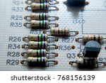 digital photonic and electron... | Shutterstock . vector #768156139