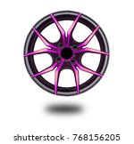 alloy wheels on white | Shutterstock . vector #768156205