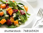 Fresh Autumn Salad With...