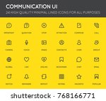communication user interface ...