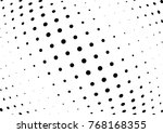 abstract halftone wave dotted... | Shutterstock .eps vector #768168355