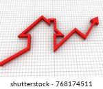 3d rendering real estate... | Shutterstock . vector #768174511