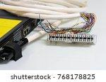 ip telephony system  telephone... | Shutterstock . vector #768178825