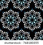 seamless vector pattern... | Shutterstock .eps vector #768180355