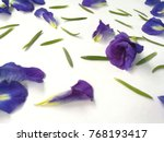 Fresh Butterfly Pea Or Blue...