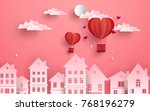 illustrations of love and... | Shutterstock .eps vector #768196279