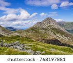 tryfan  a mountain in the ogwen ... | Shutterstock . vector #768197881