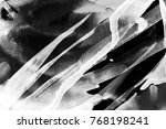 black and white abstract... | Shutterstock . vector #768198241