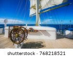 impressions from a sailing ship ... | Shutterstock . vector #768218521