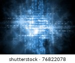 blue shine background | Shutterstock . vector #76822078