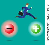 business concept as a... | Shutterstock .eps vector #768221479